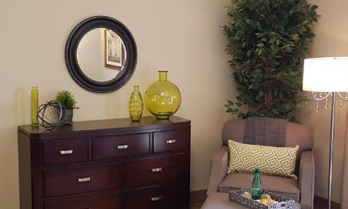 Interior of suite at Oakcrossing Retirement Living