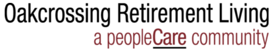 Oakcrossing Retirement Living a peopleCare Community logo