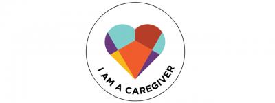 I am a caregiver badge