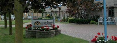 Exterior shot of peopleCare Tavistock long-term care home