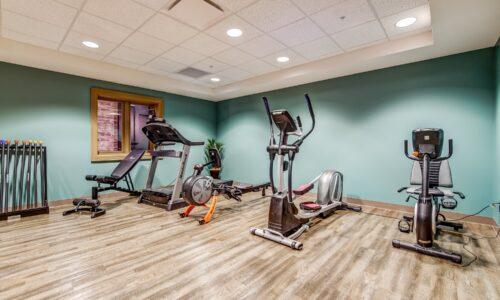Fitness Centre at Oakcrossing Retirement Living