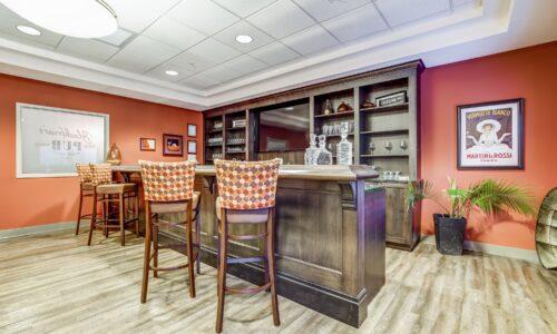 Bar in Blackfriars Pub at Oakcrossing Retirement Living